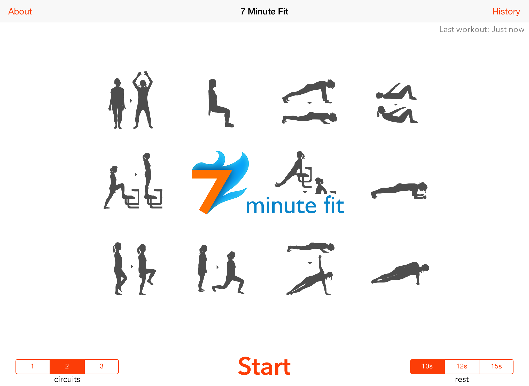 7 minute fit workout app for iphone and ipad